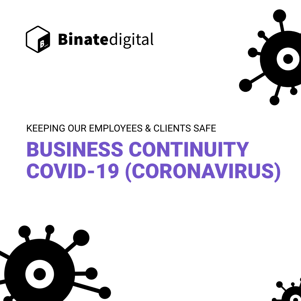 Business Continuity Plan – COVID-19 (Coronavirus)
